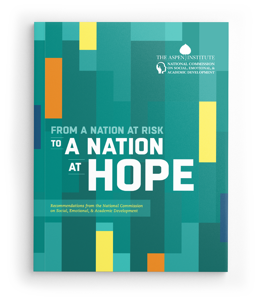 Federal Report Recommends Teaching Self >> Nation At Hope A Nation At Hope